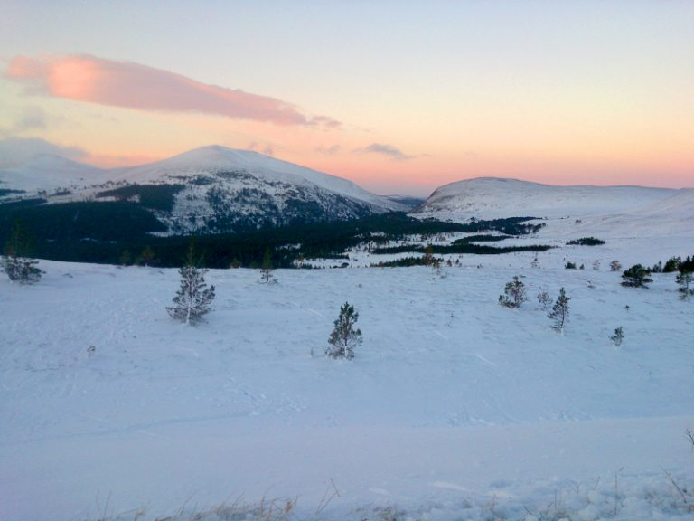 Winter in the Cairngorms National Park