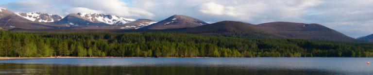 Loch Morlich Cairngorm Mountains
